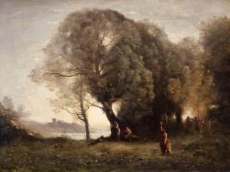 Danses virgiliennes (Corot Jean-Baptiste Camille) - Muzeo.com