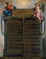 Déclaration des droits de l'Homme et du Citoyen (Jean-Jacques François Le...) - Muzeo.com