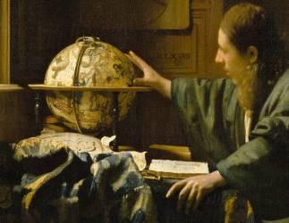 Détail de L'astronome dit aussi l'Astrologue (Vermeer Johannes) - Muzeo.com
