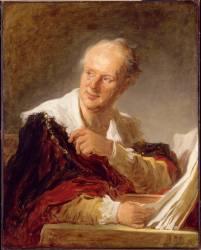 Denis Diderot, écrivain (Fragonard Jean-Honoré) - Muzeo.com