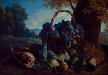 Des prunes, des figues et des bécasses (Desportes Alexandre François) - Muzeo.com