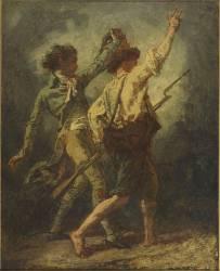 Deux volontaires : le Noble et l'Ouvrier (Couture Thomas) - Muzeo.com
