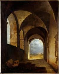 Effet de lumière dans les ruines (Granet François-Marius) - Muzeo.com