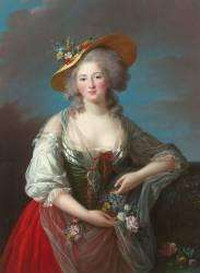 Elisabeth Philippine Marie Hélène de France, dite Madame Elisabeth (Vigée-Le Brun Elisabeth...) - Muzeo.com