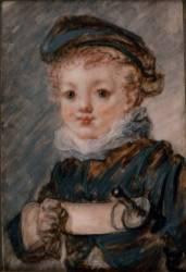 Enfant dit Le petit escrimeur (Fragonard Jean-Honoré) - Muzeo.com