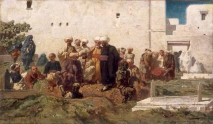 Enterrement Maure (Fromentin Eugène) - Muzeo.com