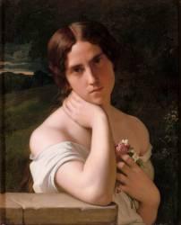 Etude de femme (Flandrin Hippolyte) - Muzeo.com
