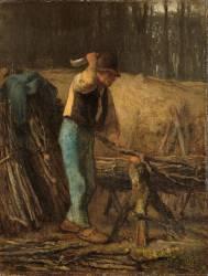 Fendeur de bois (Millet Jean-François) - Muzeo.com
