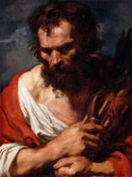 Figure d'étude (Van Dyck Antoon) - Muzeo.com