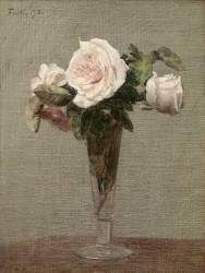 Fleurs (Henri Fantin-Latour) - Muzeo.com