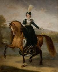 Fréderique-Catherine de Wurtemberg (1782-1835), reine de Westphalie (Gros Antoine-Jean, Baron) - Muzeo.com