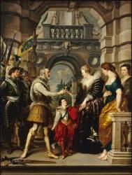 Henri IV part pour la guerre d'Allemagne (Rubens Pierre Paul) - Muzeo.com