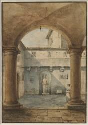 Intérieur de maison romaine (Granet François-Marius) - Muzeo.com