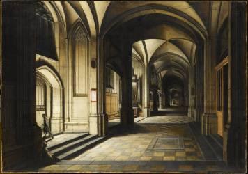 Church Interior. Night effect (Van Steenwyck Hendrick le...) - Muzeo.com