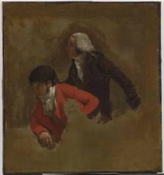 Jean-Baptiste Isabey (1767-1855), peintre (Boilly Louis Léopold) - Muzeo.com