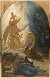 Jésus au jardin des oliviers (Chasseriau Théodore) - Muzeo.com