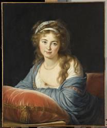 La comtesse Catherine Vassilievna Skavronskaia (1761-1829) (Vigée-Le Brun Elisabeth...) - Muzeo.com