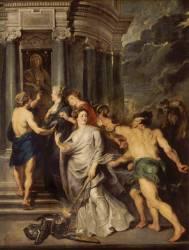 La Conclusion de la paix, à Angers, le 10 août 1620, à Florence le 5 octobre 1600 (Rubens Pierre Paul) - Muzeo.com
