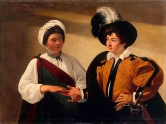 The Fortune Teller (Caravaggio) - Muzeo.com