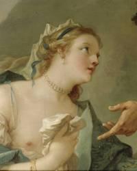 La Fausse princesse de Micomicon vient prier Don Quichotte de la remettre sur son trône (Natoire Charles Joseph) - Muzeo.com