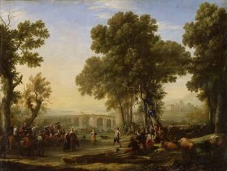 La Fête villageoise (Le Lorrain Claude) - Muzeo.com