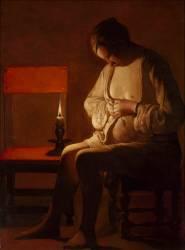 La Femme à la puce (La Tour Georges de) - Muzeo.com