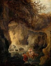 La grotte (Robert Hubert) - Muzeo.com
