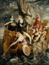 La Majorité de Louis XIII, le 20 octobre 1614 (Rubens Pierre Paul) - Muzeo.com