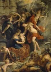 La naissance de Marie de Médicis à Florence le 26 avril 1573 (Peter Paul Rubens) - Muzeo.com