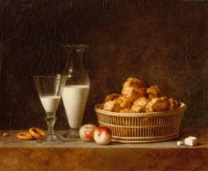 La Petite collation (ou carafe d'orgeat) (Henri Horace Roland Delaporte) - Muzeo.com