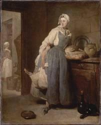 La Pourvoyeuse (Chardin Jean Siméon) - Muzeo.com