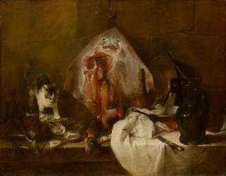 La Raie (Chardin Jean Siméon) - Muzeo.com