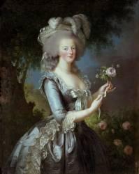 La reine Marie-Antoinette dit
