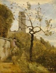 La tour de Montlhéry (Essonne) (Corot Jean-Baptiste Camille) - Muzeo.com