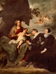 La Vierge aux donateurs (Van Dyck Antoon) - Muzeo.com