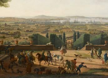La Ville et la rade de Toulon (Vernet Joseph) - Muzeo.com