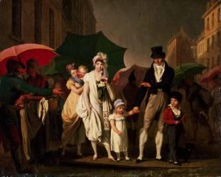 L'Averse (Louis-Léopold Boilly) - Muzeo.com