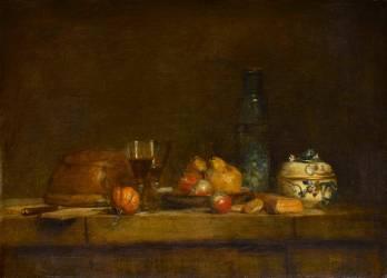 Le Bocal d'olives (Jean-Baptiste-Siméon Chardin) - Muzeo.com