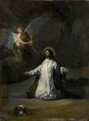 Le Christ au jardin des oliviers (De Goya Francisco) - Muzeo.com