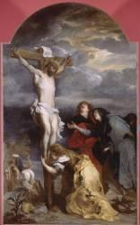 Le Christ en croix ou le Calvaire (Van Dyck Antoon) - Muzeo.com