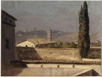 Le cyprès (Valenciennes Pierre Henri de) - Muzeo.com