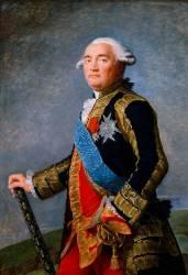 Le marquis Philippe-Henri-Marie de Ségur, maréchal de France (1724-1801) (Vigée-Le Brun Elisabeth...) - Muzeo.com