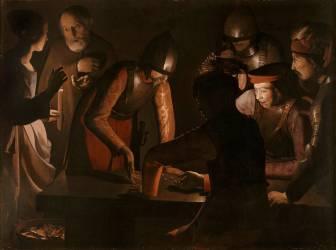 Le Reniement de saint Pierre (Georges de La Tour) - Muzeo.com