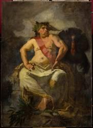 Le Roi de l'époque (Thomas Couture) - Muzeo.com