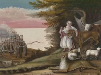 The Peaceable Kingdom (Edward Hicks) - Muzeo.com