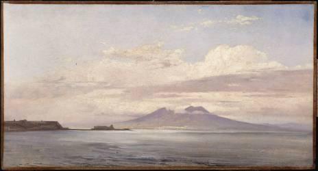 Le Vésuve et le golfe de Naples vus de la mer (Valenciennes Pierre Henri de) - Muzeo.com
