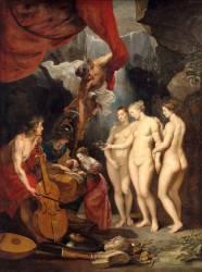 L'Education de Marie de Médicis (Peter Paul Rubens) - Muzeo.com