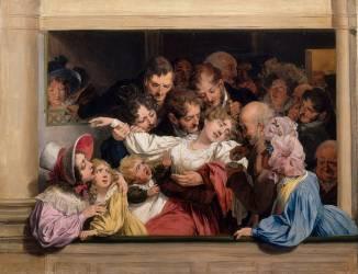 L'effet du mélodrame (Boilly Louis Léopold) - Muzeo.com