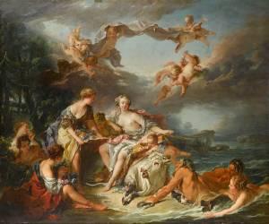 L'Enlèvement d'Europe (Boucher François) - Muzeo.com
