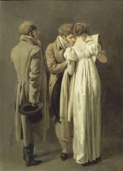 Les amateurs d'estampes (Louis-Léopold Boilly) - Muzeo.com